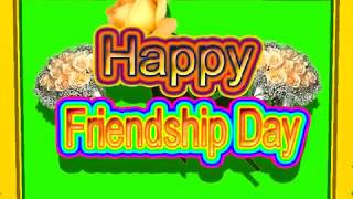 Happy Friendship Day Green Screen Effects - Happy Friendship Day speciel 3D Animated Video No 63