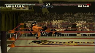 WCW/NWO Thunder - Goldberg - World Heavyweight Championship (PS1)