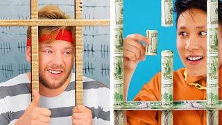 السجن الغنى مقابل السجن الفقير ! 17 موقف مضحك