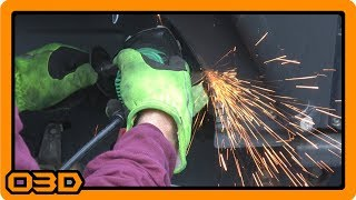 Trimming Rear Fender Wells for More Tire Clearance Jeep Wrangler JK Unlimited