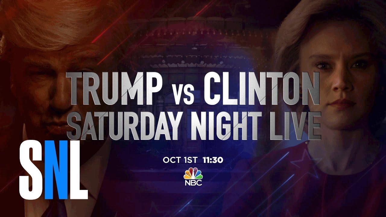 """Képtalálat a következőre: """"Donald Trump vs. Hillary Clinton Debate Cold Open - SNL"""""""