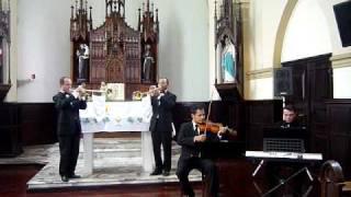 Concert Eventos Marcha Nupcial Violino Piano e Clarins  .MOV