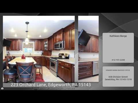 223 Orchard Lane, Edgeworth, PA 15143