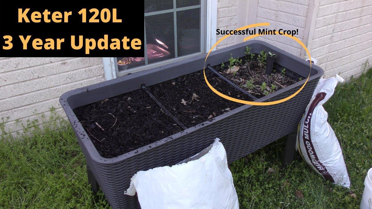 large keter garden planter 2 year