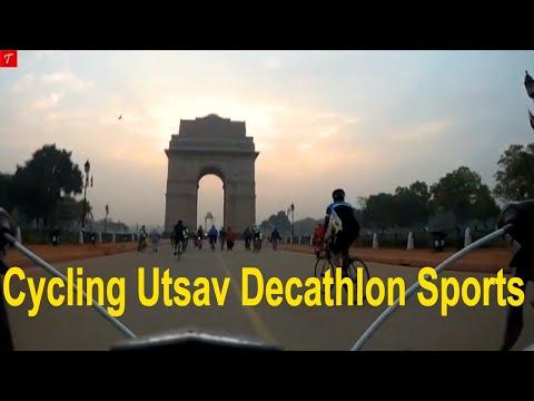 Cycle Utsav 2018 I Decathlon Khel Gaon l New Delhi l Tripaholic Indian