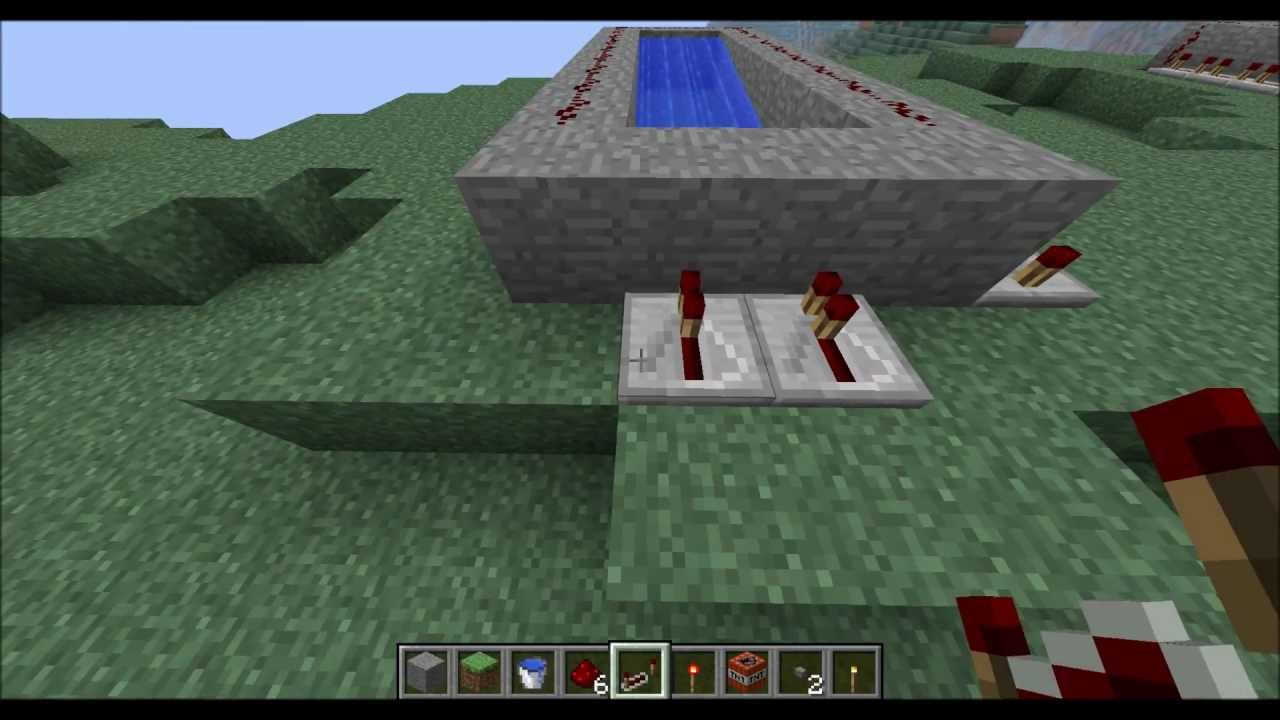 minecraft how to build a cannon
