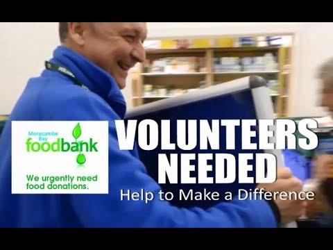 Morecambe Bay Foodbank Volunteers Needed Tuesday Fridays