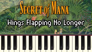 Wings Flapping No Longer - Secret of Mana [Synthesia]