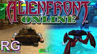 Alien Front Online - Sega Dreamcast - Intro, arcade and tactics mode gameplay [HD 1080p 60fps]