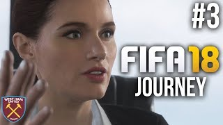 FIFA 18 The Journey Gameplay Walkthrough Part 3 - TRANSFER REQUEST ??? (Full Game)