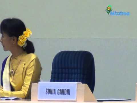 Sonia Gandhi on Aung San Suu Kyi