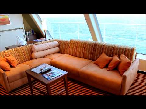 "Carnival Sunshine ""Captain's Suite"" 9115 Tour"