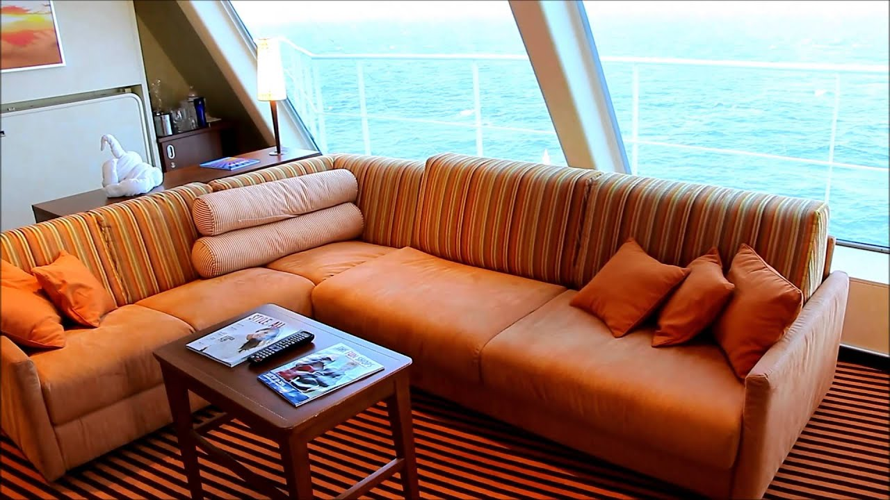 Carnival Sunshine Captains Suite Tour YouTube - Best rooms on a cruise ship carnival