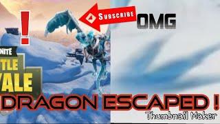 Fortnite Polar Peak Dragon GONE(Polar Peak Destroyed