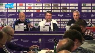 Pressekonferenz nach dem Auswärtsspiel bei Erzgebirge Aue