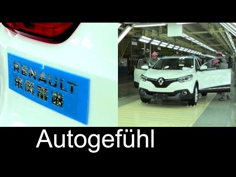 Renault Kadjar assembly production in Wuhan, China at Dongfeng Renault (DRAC) - Autogefühl