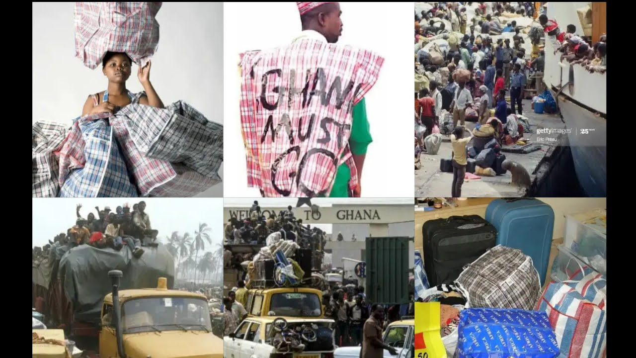 Download BREAKING: Ghanians remember The history of GHANA MUST GO while NIGERIANS are now in their Country..