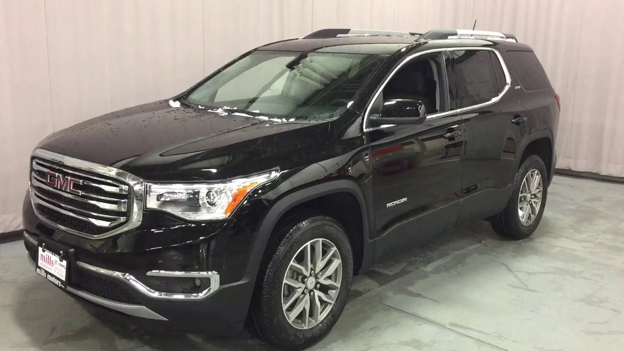 2017 gmc acadia fwd sle 2 black power lift gate black oshawa on stock 170784 youtube. Black Bedroom Furniture Sets. Home Design Ideas