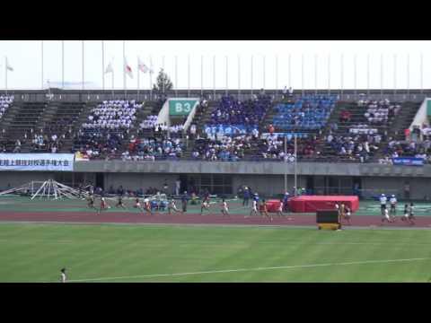 2016日本インカレ男子4×100mR予選3組 日本体育大(山根 鷹合 川瀬 作華)39.64 Nippon Sport Science University1st