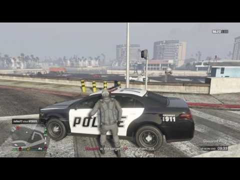Wrecking players in GTA 5 online