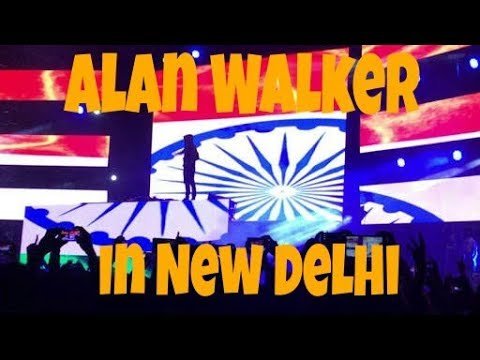 Alan Walker live in Delhi India | In Playboy Club New Delhi | September 2017 |