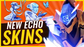 ECHO SKINS & REFERENCES - Reacting to NEW Skins | Overwatch