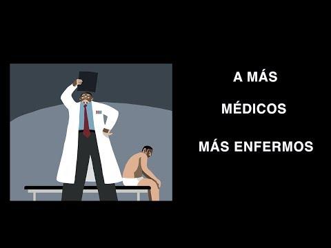 Más médicos, más enfermos