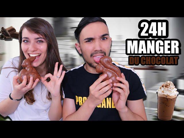 ON MANGE DU CHOCOLAT PENDANT 24H ?!! Jonathan et Amandine