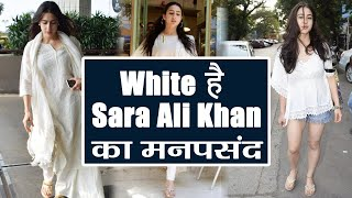 Sara Ali Khan Is In LOVE With White Colour, Have You Noticed Yet?   FilmiBeat