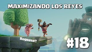 Regreso!! Avances de mi Th9 y los Reyes - MAXIMIZANDO REYES AL 30 TH9 - CLASH OF CLANS