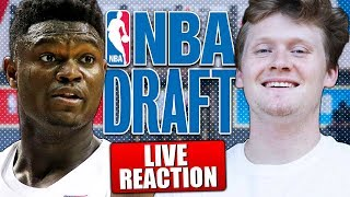 LIVE REACTING TO FIRST ROUND OF NBA DRAFT!