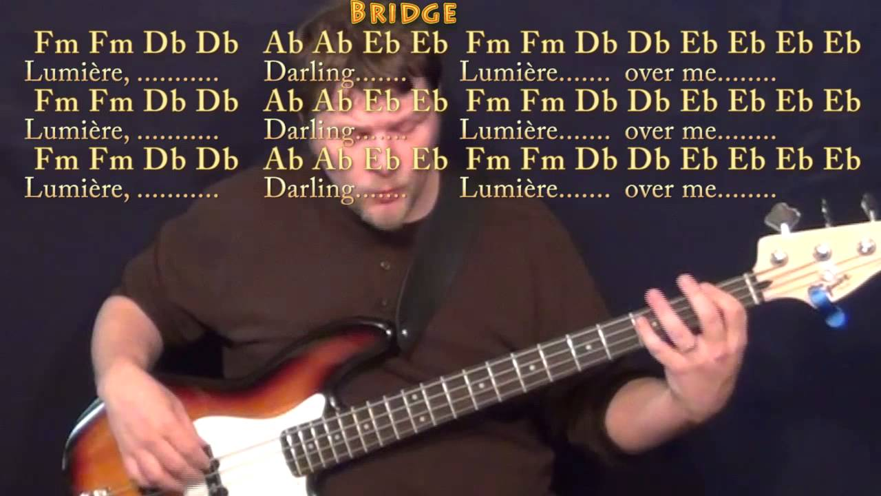 Tenerife Sea Ed Sheeran Bass Guitar Cover Lesson In Ab With Chords
