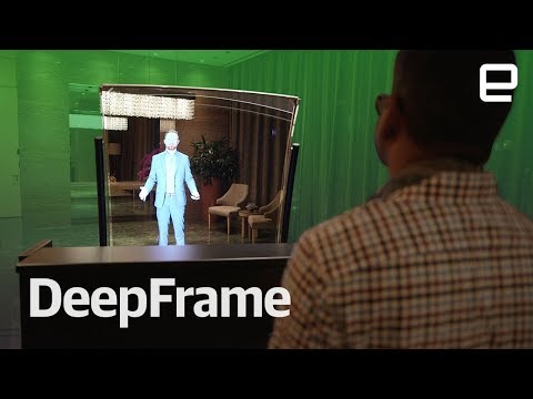 Realfiction's Deepframe first look at CES 2018
