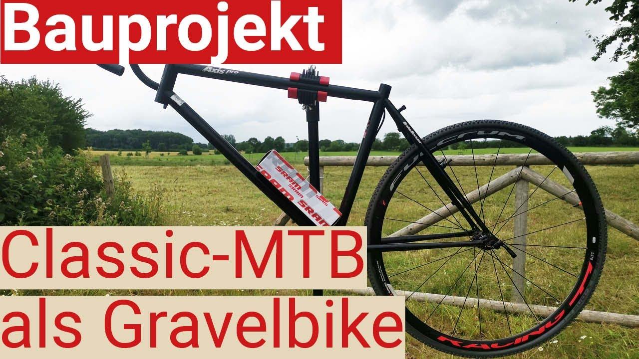 Urlaubsprojekt: 28 Zoll Gravelbike aus altem Stahl-Mountainbike bauen