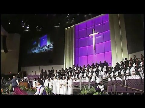 """""""Jesus Is A Rock In The Weary Land"""" Anthony Brown w/ Young Adult Choir (amazing)"""
