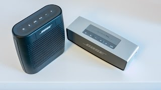 Bose Soundlink Colour vs. Soundlink Mini - sound comparison