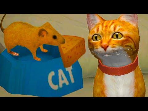 СИМУЛЯТОР Маленькой МЫШИ #10 Мышь против Кошки. Кид против Босса на пурумчата