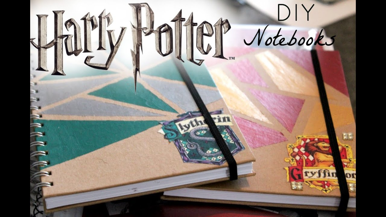 Harry potter diy notebooks 2016 youtube solutioingenieria Image collections
