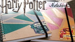 harry potter diy notebooks 2016
