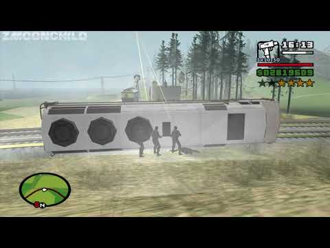 What happens if the SWAT Teams run out of ammo? GTA San Andreas