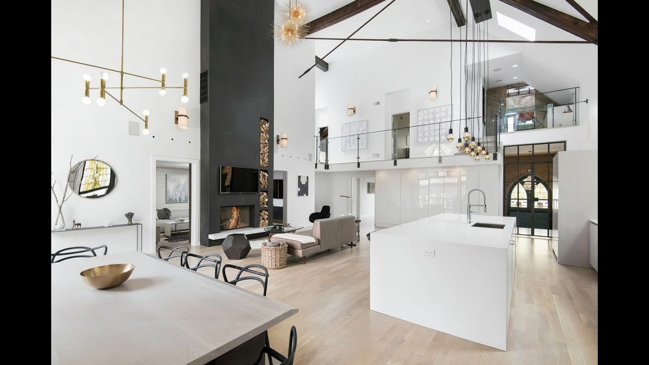 Old Church Converted Into An Eclectic Family Home Youtube