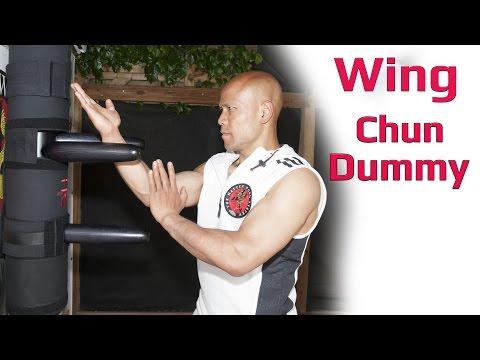 wing chun iron dummy training