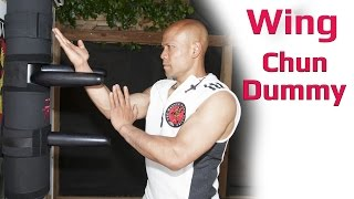 wing chun iron dummy training