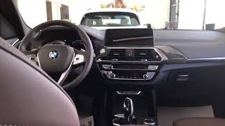 2019 BMW X3 interior and exterior