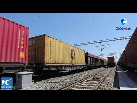 GLOBALink | NW China's Horgos port sees over 15,000 China-Europe freight train trips