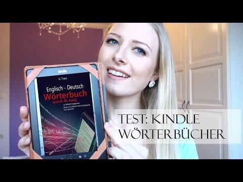 großer Test: Kindle Wörterbuch englisch - deutsch