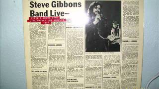 steve gibbons band live 1977 you gotta pay