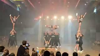 EBS Cheerleading @ WHU Euromasters 2018