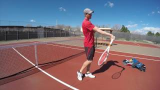 Increasing Racquet Head Speed With Less Effort