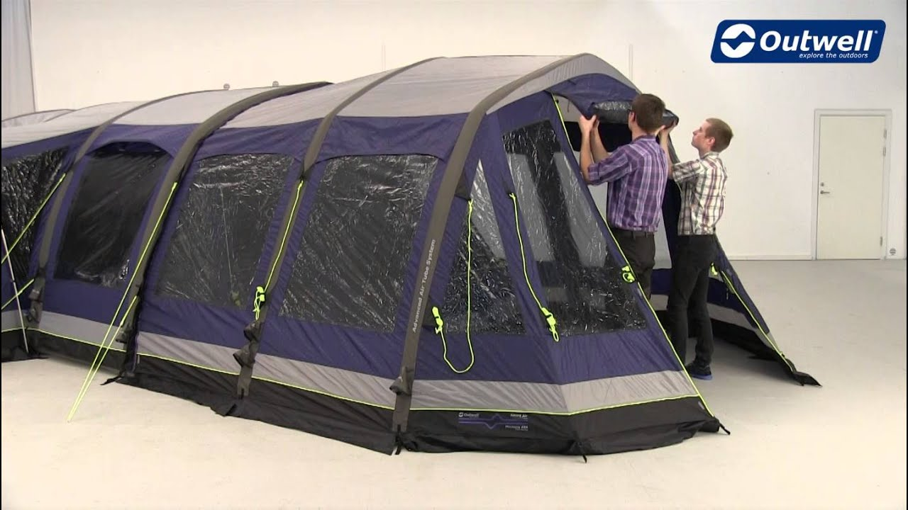 Outwell Montana 6SA Front Awning Pitching Video